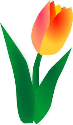 Tulip Clip Art Border | Clipart Panda - Free Clipart ImagesTulips Page Borders Clipart Free