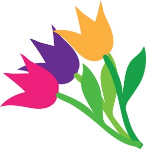 Image result for tulip clip art