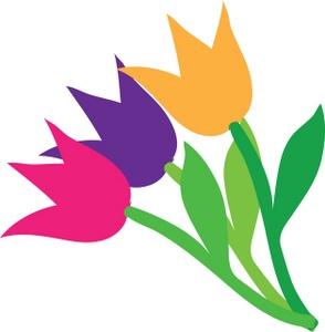 Image result for tulip clip art