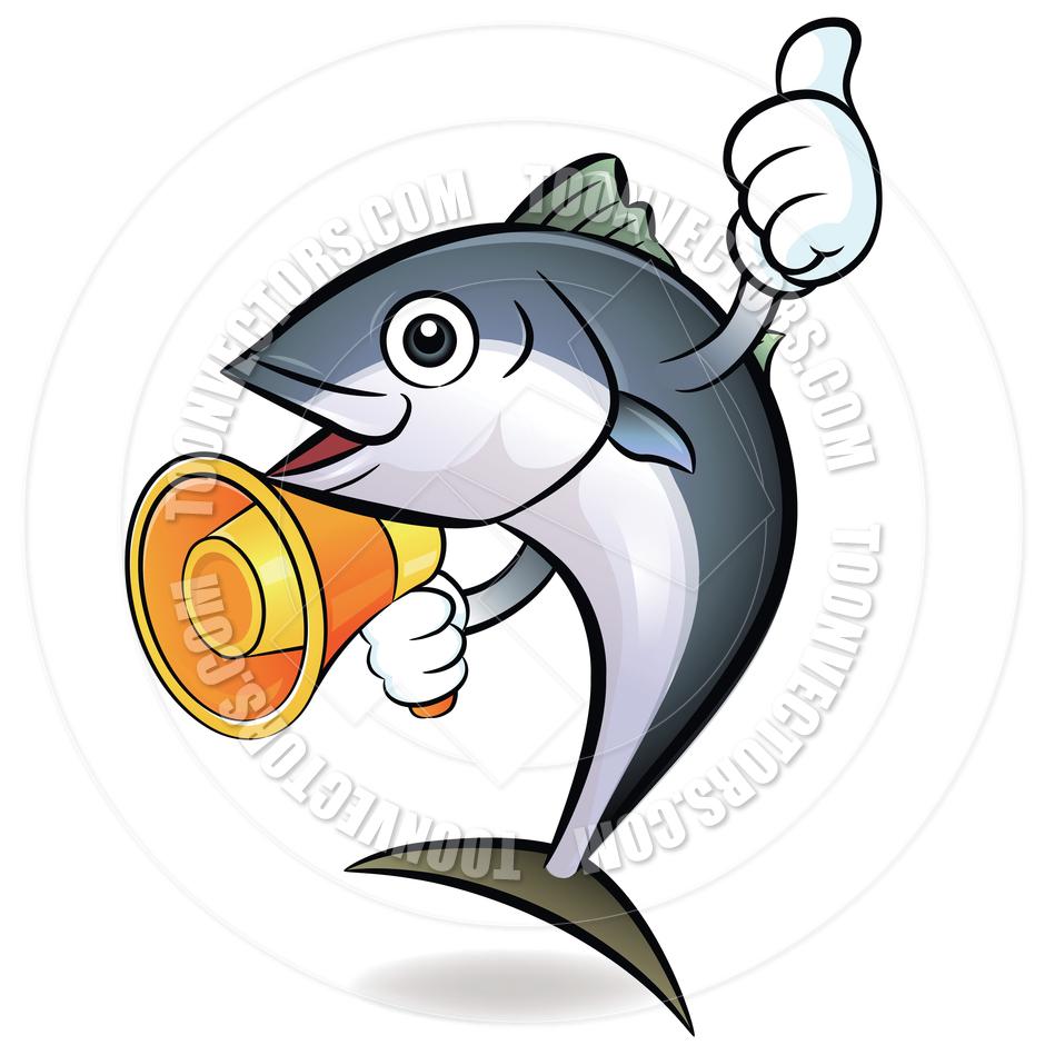 Cartoon Tuna Fish with | Clipart Panda - Free Clipart Images