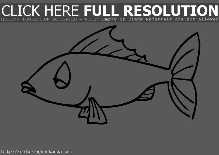 Tuna Fish Coloring Page Clipart Panda Free Clipart Images
