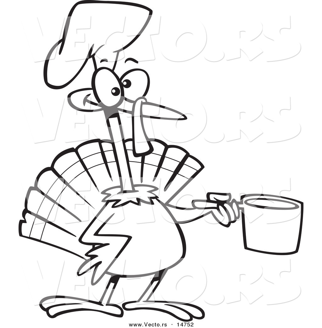 cartoon turkey coloring pages - photo#28