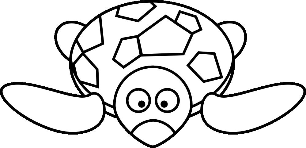 turtle clipart black and white clipart panda free clipart images rh clipartpanda com teenage mutant ninja turtles clipart black and white Bird Clip Art Black and White