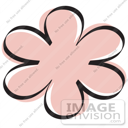 Light Pink Flower Clipart   Clipart Panda - Free Clipart Images