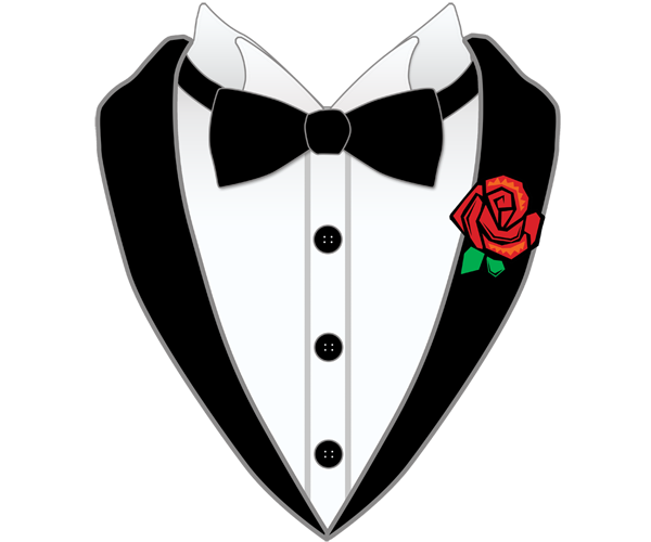 The Gallery For Gt Cartoon Tuxedo With Tie