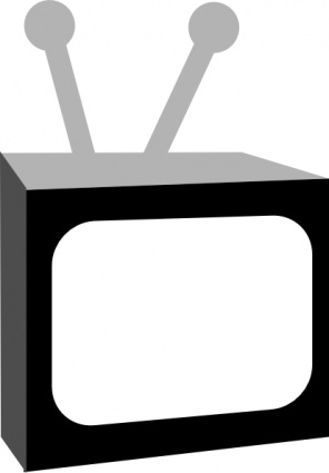 Tv Clipart Black And White Clipart Panda Free Clipart