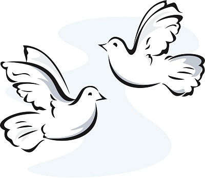Two Dove Clipart | Clipart Panda - Free Clipart Images