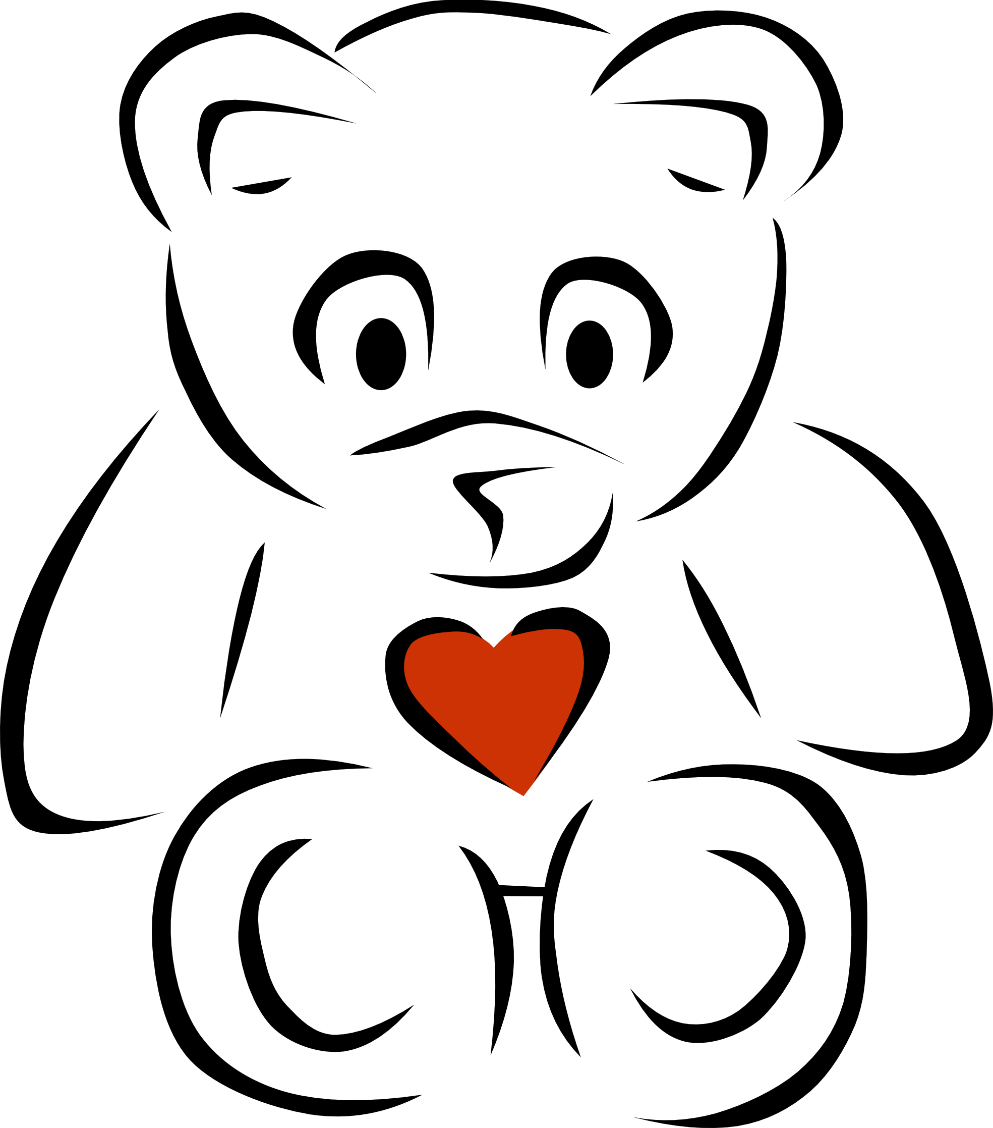 Clipart Heart Black And White | Clipart Panda - Free Clipart