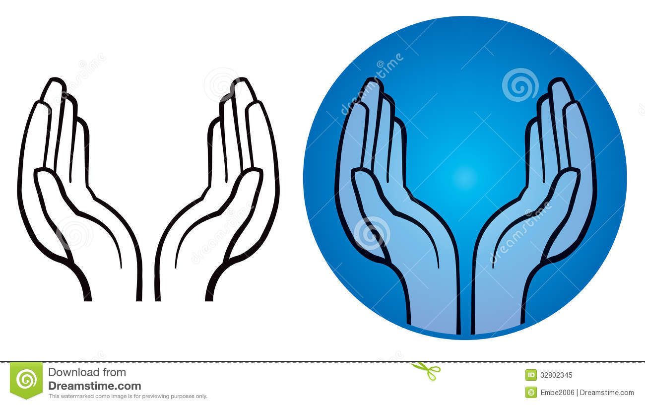 Two Open Hands Clipart | Clipart Panda - Free Clipart Images