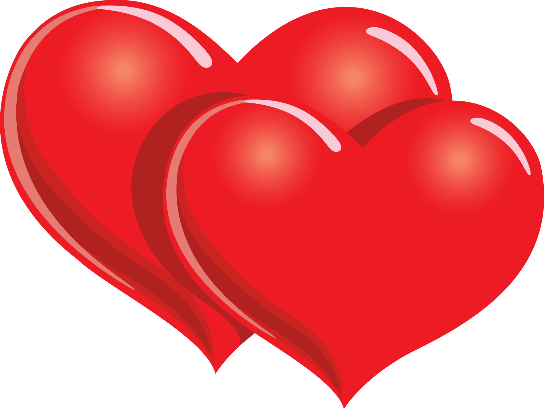 two 20red 20hearts 20clipart Hearts