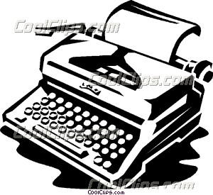 Typewriter 20clipart | Clipart Panda - Free Clipart Images