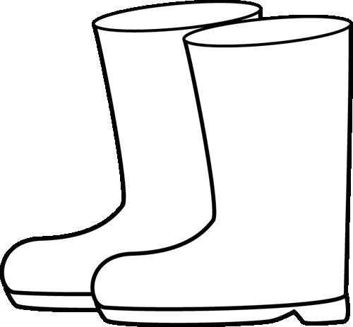 Clip Art Boot Clip Art cowboy boots clipart black and white panda free