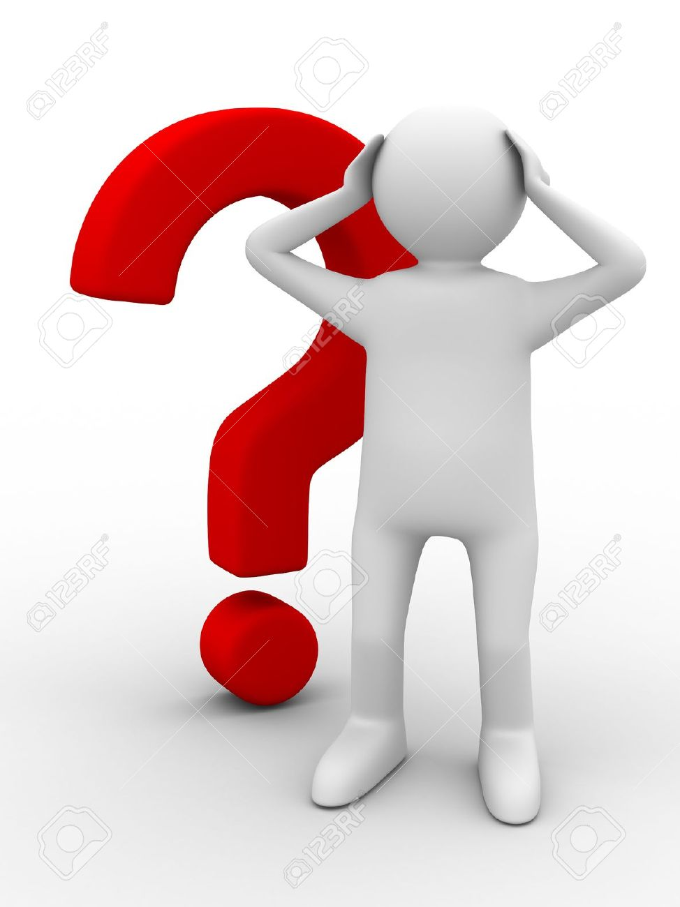 clipart question guy - photo #24