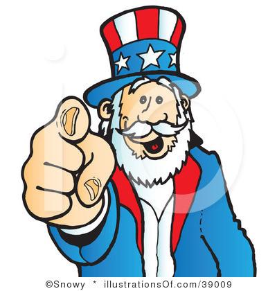 Uncle Sam Wants You Clip Art Uncle Sam Clipart #390...