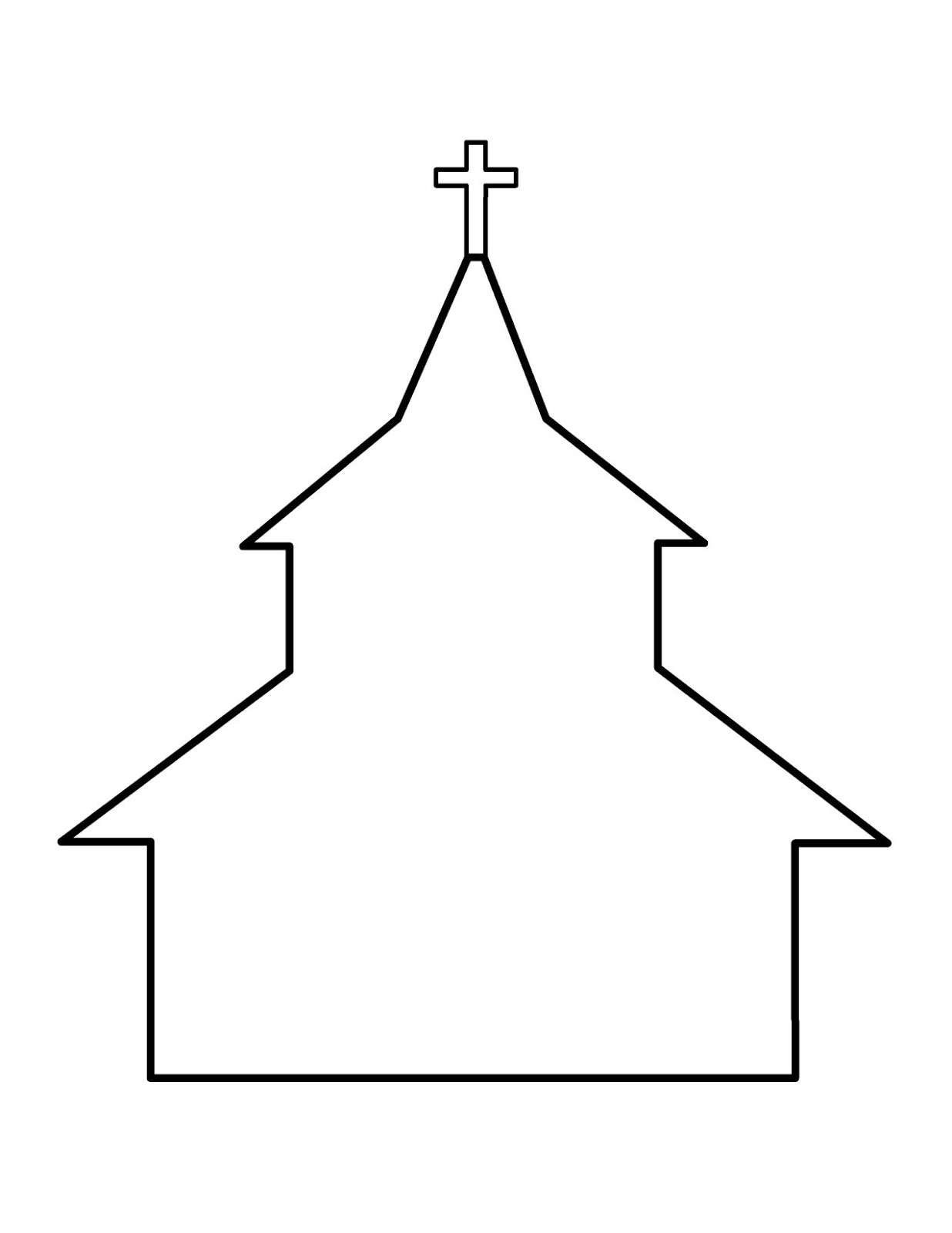 House Roof Outline Clipart Clipart Panda Free Clipart
