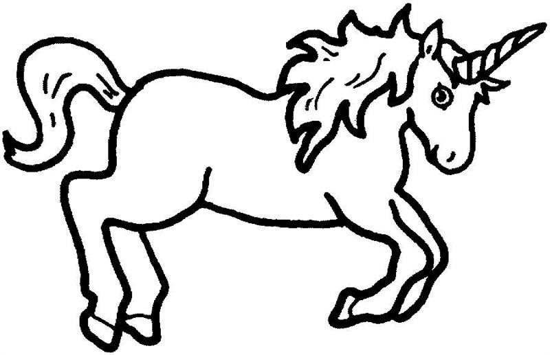 Line Drawing Unicorn : Unicorn clip art free clipart panda images