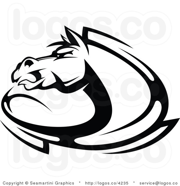 Horse Head Logos Horse Head Logo Unicorn Head
