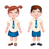 School Clothes Clipart Black And White   Clipart Panda ...
