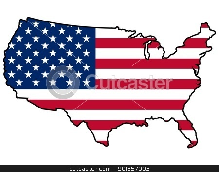 United States Clip Art Map | Clipart Panda - Free Clipart Images