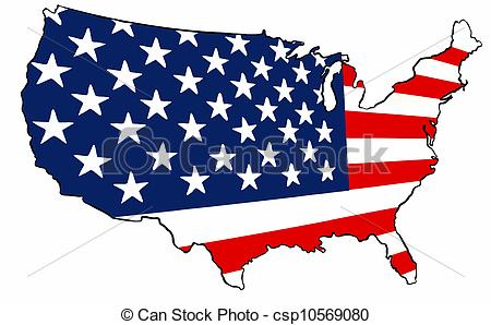 Us Map Clip Art Powerpoint Free Us Map Of The United States Us - Us map logo