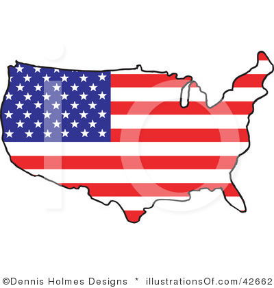 United States Clip Art To Highlight States | Clipart Panda ...