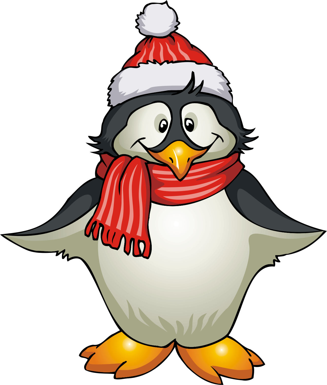 holiday penguin clipart clipart panda free clipart images Penguins Christmas Tree Clip Art christmas penguin clipart black and white