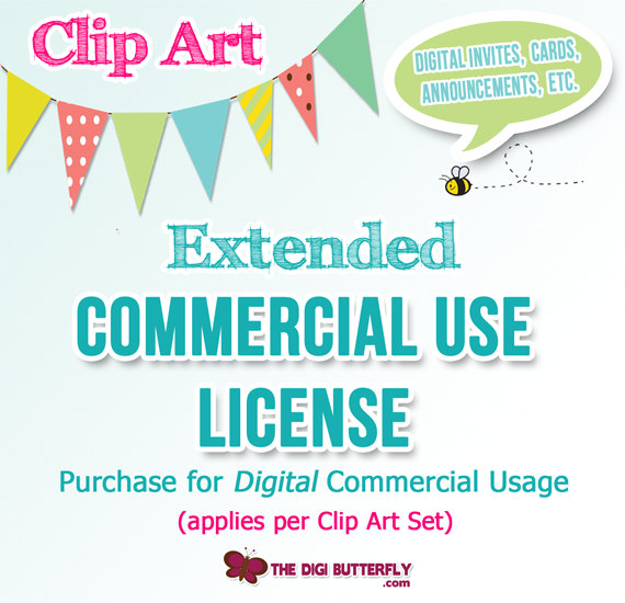 Extended Commercial Use | Clipart Panda - Free Clipart Images