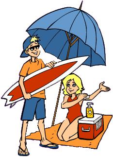 Beach Vacation Clipart