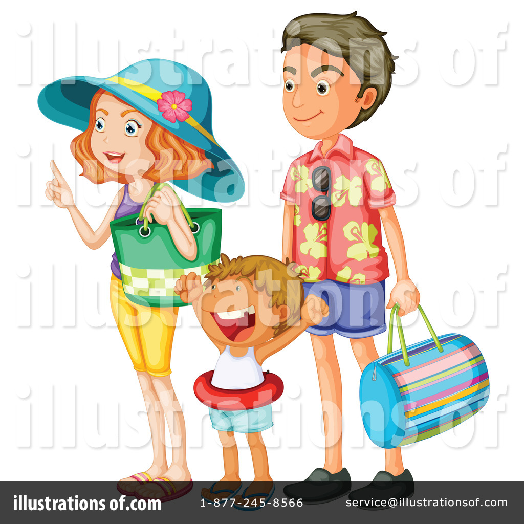 clipart of family vacation - photo #45