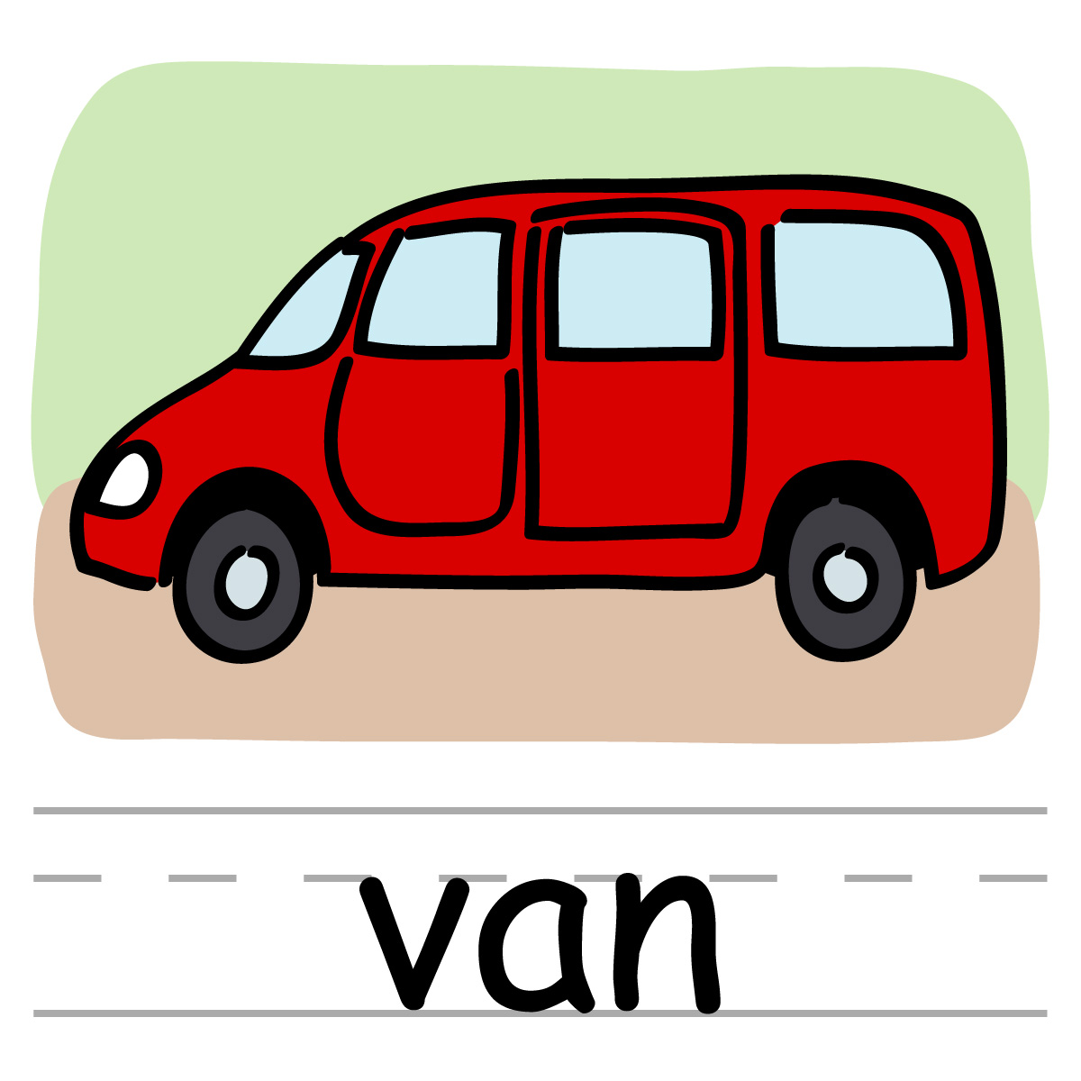 clipart pictures of vans - photo #6