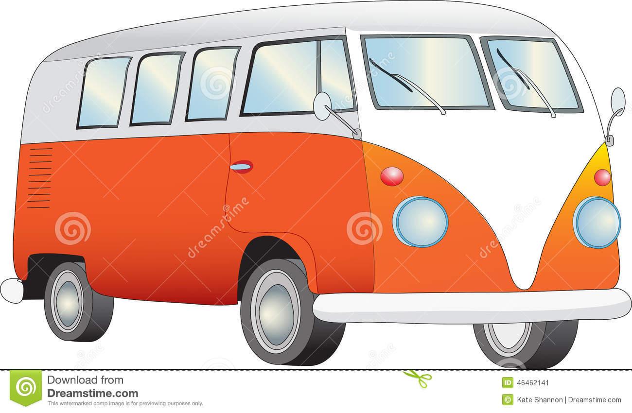 Retro camper van | Clipart Panda - Free Clipart Images
