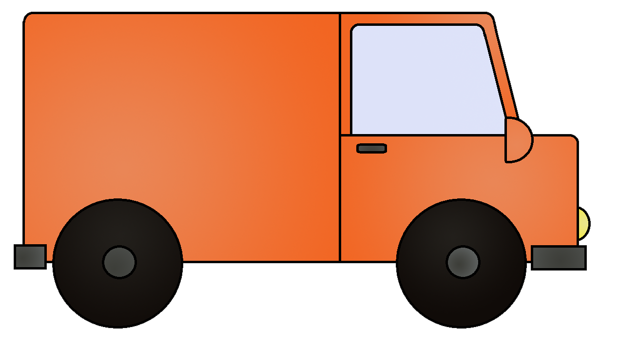 clipart pictures of vans - photo #9