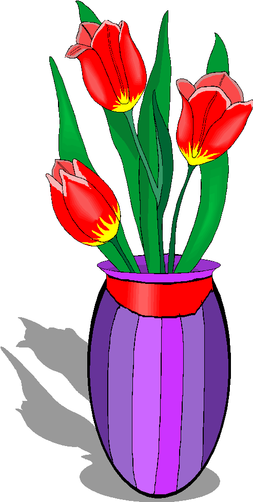 Flowers In A Vase Clipart | Clipart Panda - Free Clipart ...
