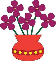 Flowers In A Vase Clipart Clipart Panda Free Clipart