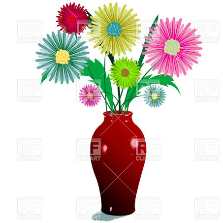 Free Flower On Vase Coloring Pages For S Printable