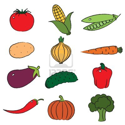 Vegetable Garden Clipart Black And White | Clipart Panda ...