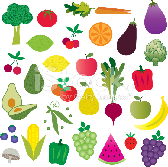 cliparts of fruits and vegetables - photo #21