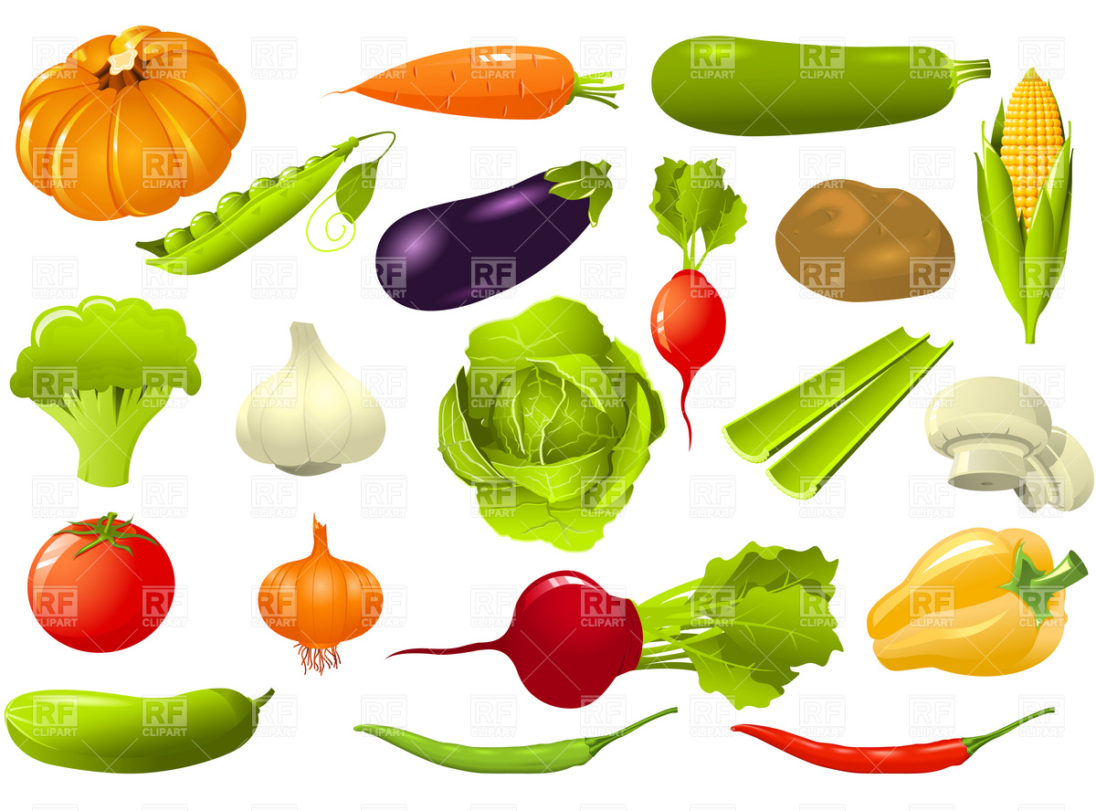 Vegetables Clip Art Free Download | Clipart Panda - Free Clipart ...