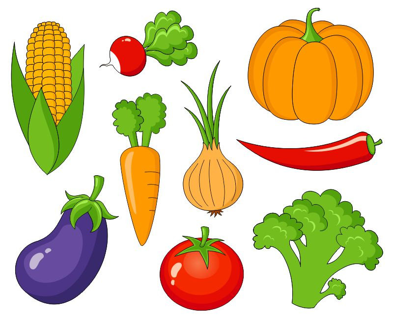 vegetable clip arts
