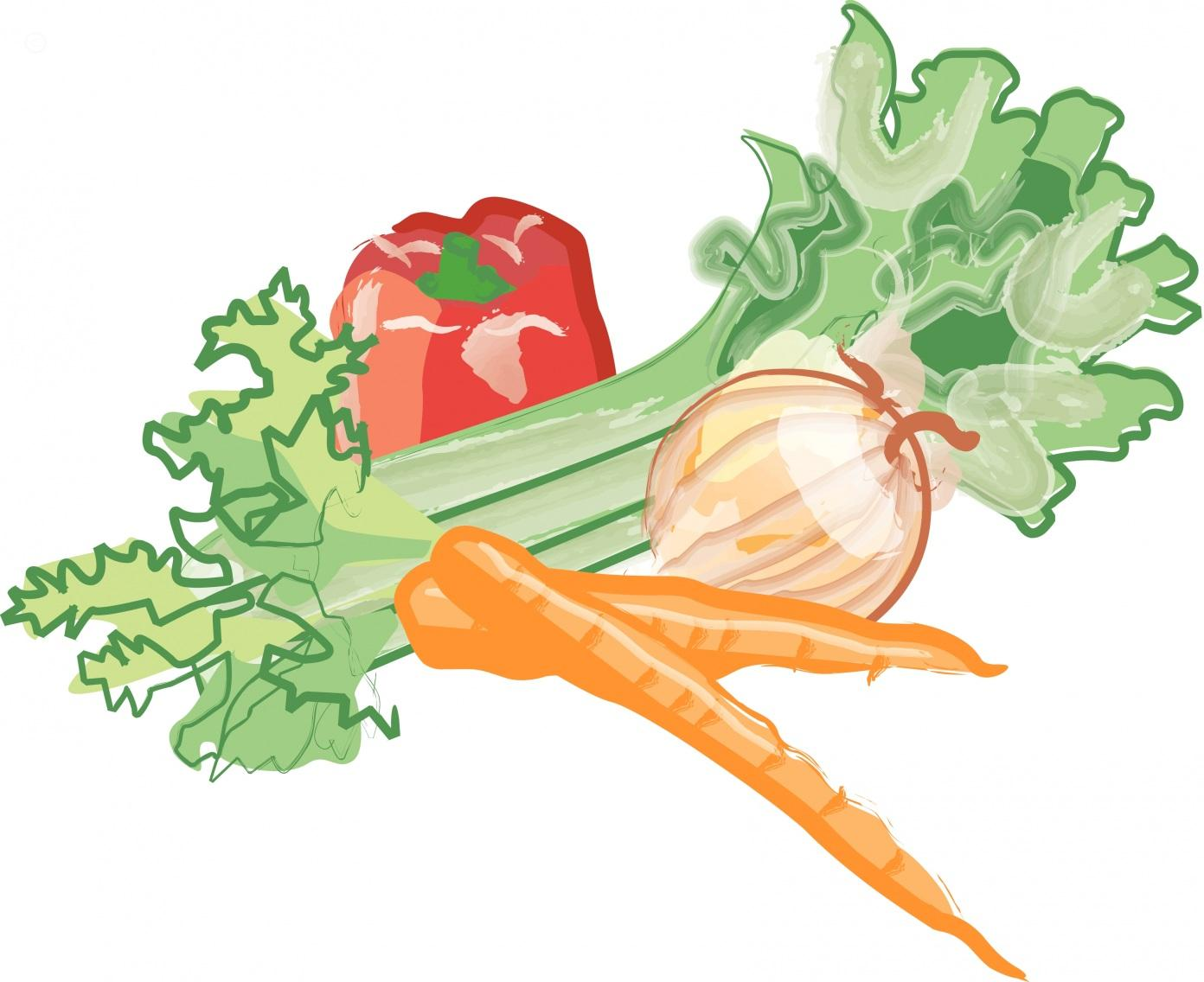 free vector vegetables clipart - photo #46