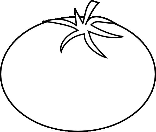 Tomato Clipart Black And White | Clipart Panda - Free ...