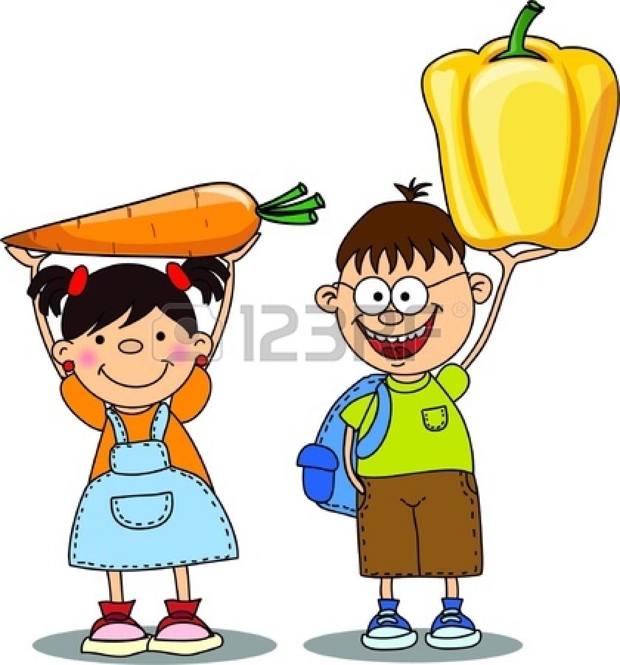 free clipart vegetables cartoon - photo #31