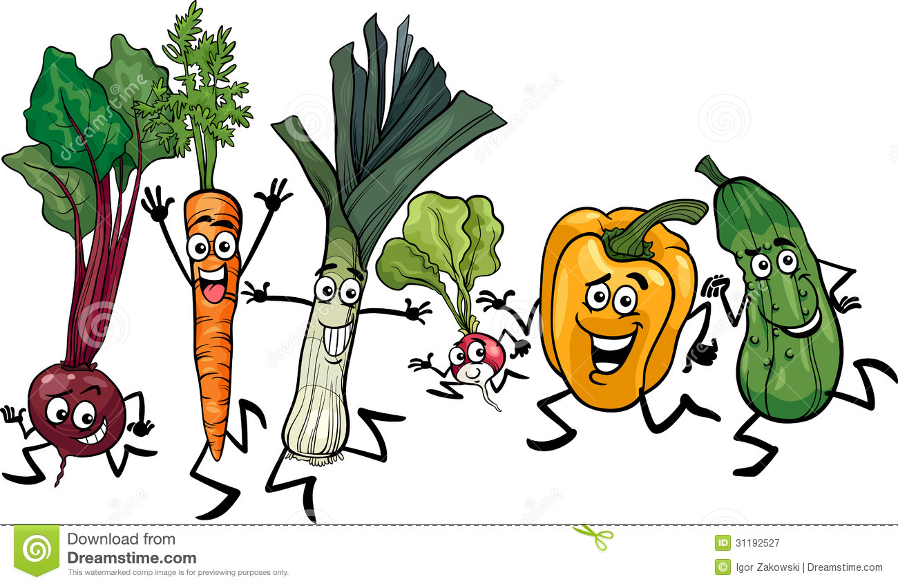 Vegetables Cartoon | Clipart Panda - Free Clipart Images