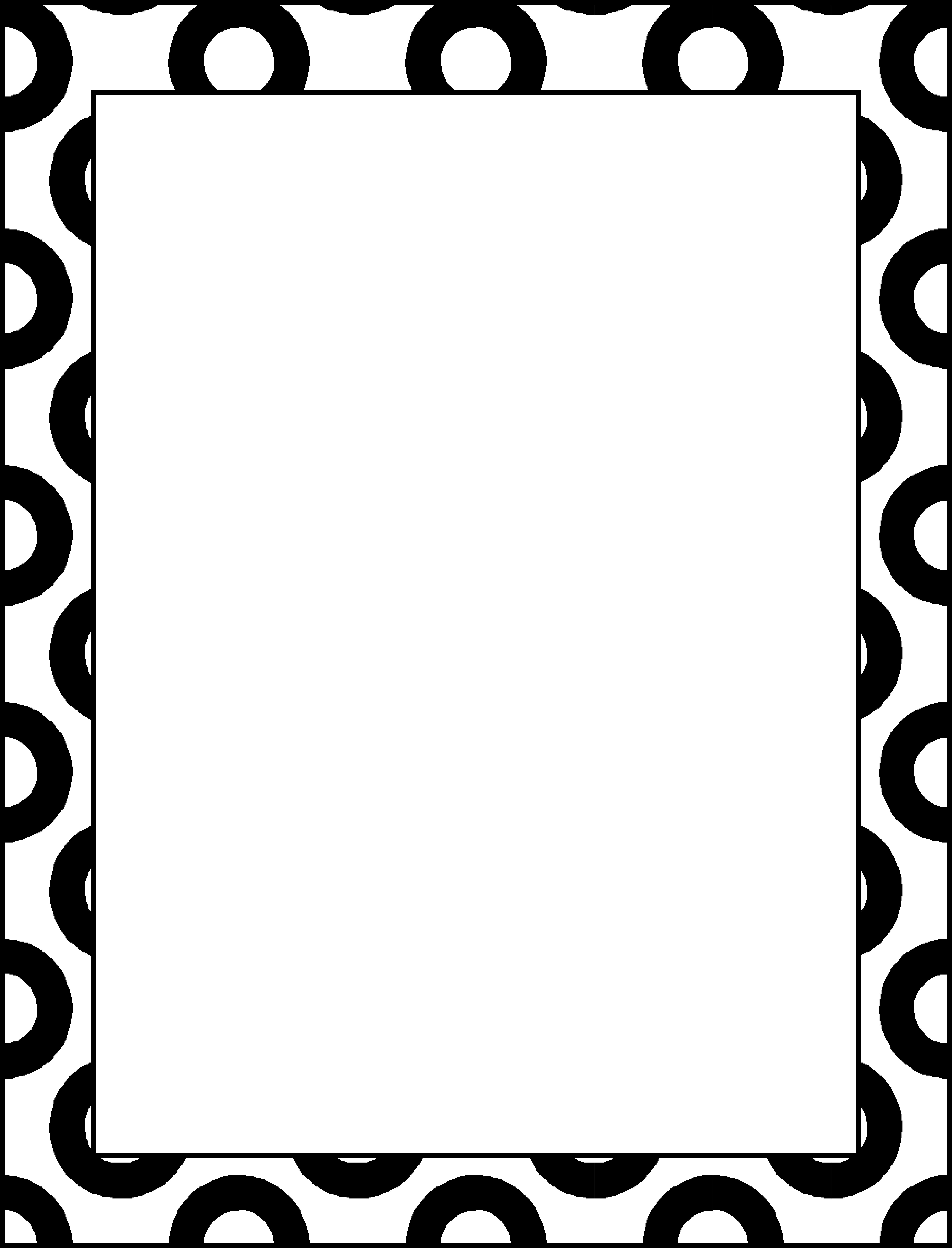 Vegetables Clipart Black And White Border | Clipart Panda ... Very Simple Border Designs To Draw
