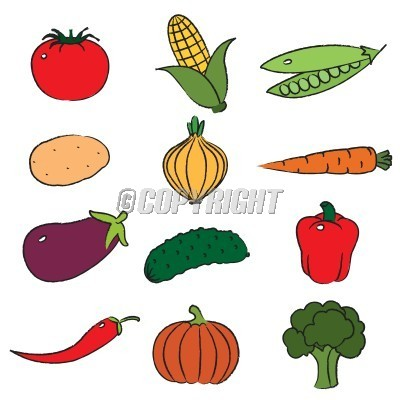 Fruit And Vegetables Clipart | Clipart Panda - Free ...