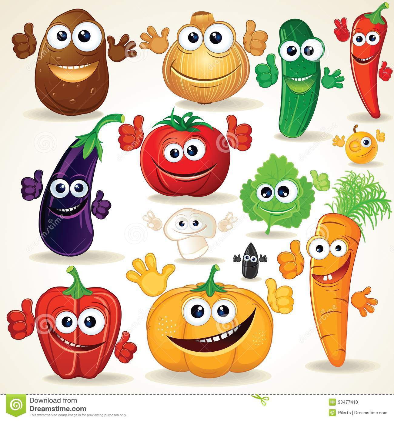 Vegetables Art And Craft
