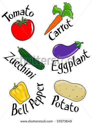 vegetables names clipart panda free clipart images