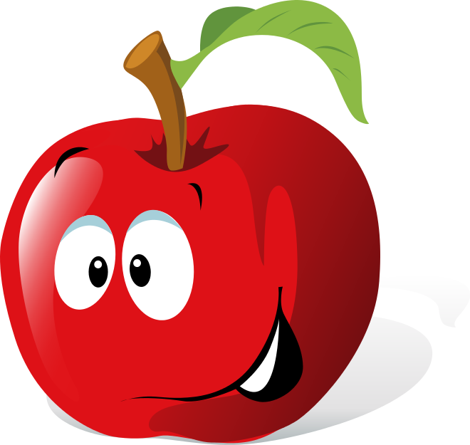 Faces Vector Download Vector Cartoon Fruit Face Free