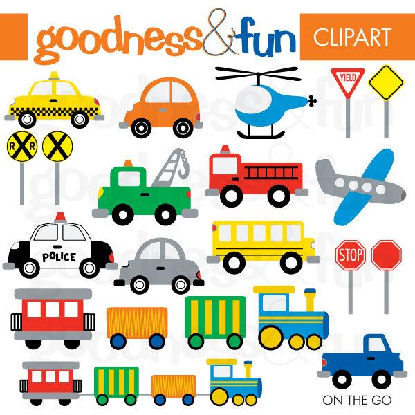 Vehicle Clip Art Free on Preschool Christmas Clip Art