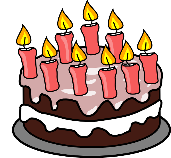Th Birthday Cake Clip Art